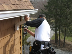 gutter and downspout installation company